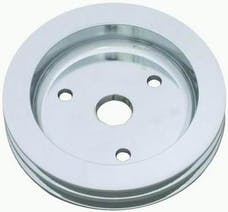 RPC (Racing Power Company) R9481POL Pol alum sbc double groove pully ea