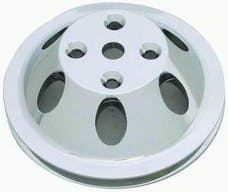 RPC (Racing Power Company) R9482POL Pol alum sbc single groove pully ea