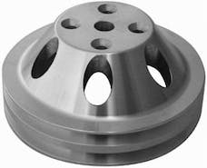 RPC (Racing Power Company) R9483 Satin sbc double groove pulley ea