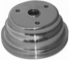 RPC (Racing Power Company) R9484 Satin sbc single groove pulley ea