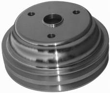 RPC (Racing Power Company) R9485 Satin sbc double groove pulley ea