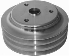 RPC (Racing Power Company) R9486 Satin sbc triple groove pulley ea
