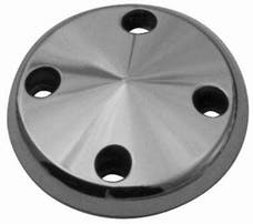 RPC (Racing Power Company) R9489 Satin sbc lwp pulley nose ea