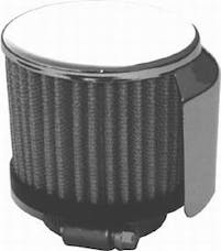 RPC (Racing Power Company) R9517 Clampon filter breather w/shield ea
