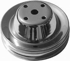 RPC (Racing Power Company) R9605 Sb chevy double groove pulley ea