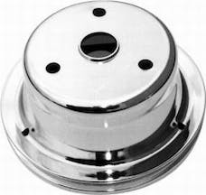 RPC (Racing Power Company) R9606 Sb chevy single groove pulley ea