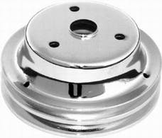 RPC (Racing Power Company) R9607 Sb chevy double groove pulley ea