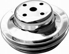 RPC (Racing Power Company) R9723 Bb chevy double groove pulley ea