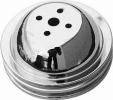 RPC (Racing Power Company) R9815 Bb chevy double groove pulley ea