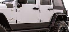 Rampage Products 120282 Rhino Linings Rocker Guards Small Black