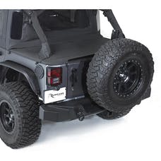 Rampage Products 99606 TrailGuard Rear Bumper; w/2 in. Receiver; Black