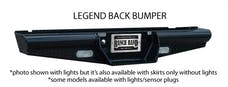 Ranch Hand BBF050BLL Legend Back Bumper