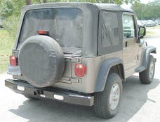 Ranch Hand BBJ971BLL JEEP SPORT BACK BUMPER