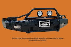 Ranch Hand BSF04HBL1 Bullnose Summit Front Bumper Replacement