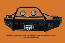 Ranch Hand BTC115BLR Bullnose Sport Series Winch Front Bumper Replacement