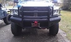 Ranch Hand FBD065BLR Sport Series Front Bumper - 15K winch ready