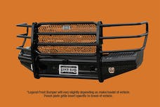 Ranch Hand FBG011BLR Front Bumper Replacement