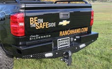 Ranch Hand SBC14HBLSL SPORT BACK BUMPER-LIGHTED W/SENSOR PLUGS