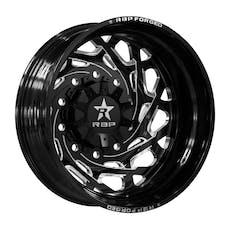 RBP Performance 10R-22825-10+132RIBG 10R Empire 22x8.25 Rear Inner 10-225 et 132 Gloss Black with Machine Groove