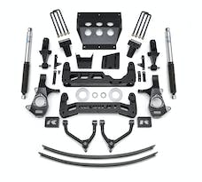 ReadyLIFT 44-3491 9'' Big Lift Kit for Cast Steel OE Upper Control Arms with Bilstein Shocks
