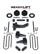 ReadyLift 69-2513 2.5'' SST Lift Kit with 4'' Rear Tapered Blocks - 1 pc Drive Shaft without Shock