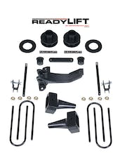ReadyLift 69-2515TP 2.5'' SST Lift Kit with 5'' Rear Flat Blocks - 2 Piece Drive Shaft without Shock
