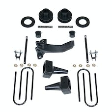 ReadyLift 69-2516TP 2.5'' SST Lift Kit with 5'' Rear Taper Blocks - 1 pc Drive Shaft without Shock