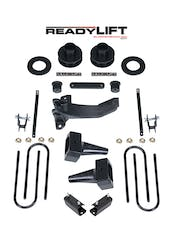 ReadyLIFT 69-2519 2.5'' SST Lift Kit with 4'' Rear Flat Blocks - 2 pc Drive Shaft without Shocks
