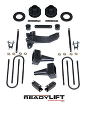 ReadyLIFT 69-2526 2.5'' SST Lift Kit with 5'' Rear Flat Blocks - 2 Piece Drive Shaft without Shock