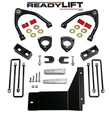 ReadyLift 69-3485 4'' SST Lift Kit Front with 3'' Rear Blocks with Upper Control Arms