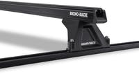 Rhino Rack JA8758 Jeep Grand Cherokee Heavy Duty RLTF Trackmount Black 2 Bar Roof Rack