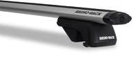 Rhino Rack JA9142 Jeep Cherokee/Grand Cherokee/Renegade Vortex SX Silver 2 Bar Roof Rack