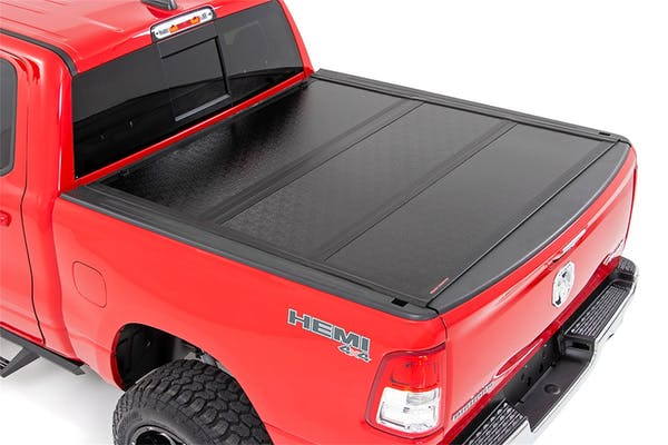 Rough Country 47320550 Hard Tri-Fold Tonneau Bed Cover
