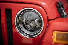 Rough Country RCH5000 Jeep 7in LED Projection Headlights (Wrangler TJ, JK)