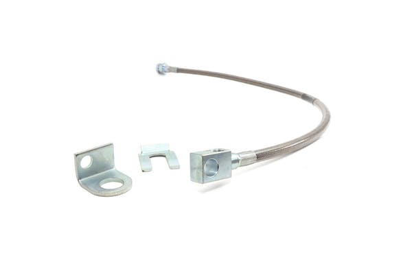 Rough Country 89703 Rear Extended Stainless Steel Brake Line for 4-6-inch Lifts