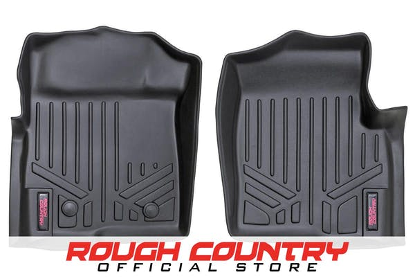 Rough Country M-5111 Heavy Duty Floor Mats - Front Set