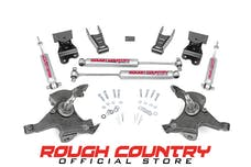 Rough Country 725.20 Front 2-inch / Rear 4-inch Lowering Kit