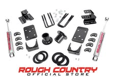 Rough Country 728.20 Front 1-2-inch / Rear 4-inch Lowering Kit