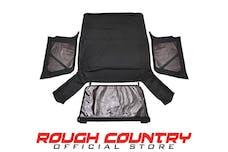 Rough Country 85020.35 Black Soft Top (Full Doors)