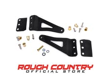Rough Country 70507 50-inch Curved LED Light Bar Upper Windshield Mounting Brackets