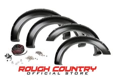 Rough Country F-F10911 Pocket Fender Flares w/ Rivets