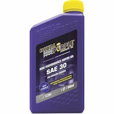 Royal Purple 01030 SAE 30 Mono Grade Engine Oil Qt. Bottle