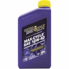 Royal Purple 01315 10W-40 Max Cycle Engine Oil Qt. Bottle