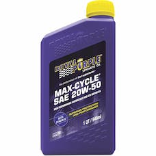 Royal Purple 01316 20W-50 Max Cycle Engine Oil Qt. Bottle