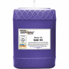 Royal Purple 05050 SAE 50 Mono Grade Engine Oil 5 gal Pail