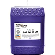 Royal Purple 05520 5W-20 Passenger Car Engine Oil 5 gal. Pail
