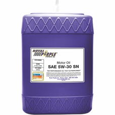 Royal Purple 05530 5W-30 Passenger Car Engine Oil 5 gal. Pail