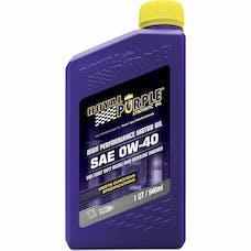 Royal Purple 11484 0W-40 Passenger Car Engine Oil Qt. Bottle