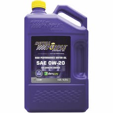 Royal Purple 51020 0W-20 Passenger Car Engine Oil 5 Qt. Bottle