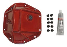 RT Offroad RT20026 Red Heavy Duty Dana 44 Differential Cover; Incl. Bolts, Recessed Fill Plug & RTV